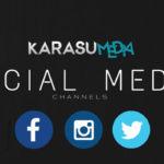 Karasumedia Social Media Channels   Facebook, Twitter, Instagram