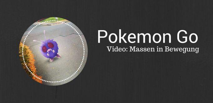 Pokemon Go - Video New York Central Park