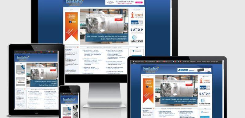 Online-Presence-Management: Visibilität und Auffindbarkeit auf der Firmensuchmaschine Bailaho