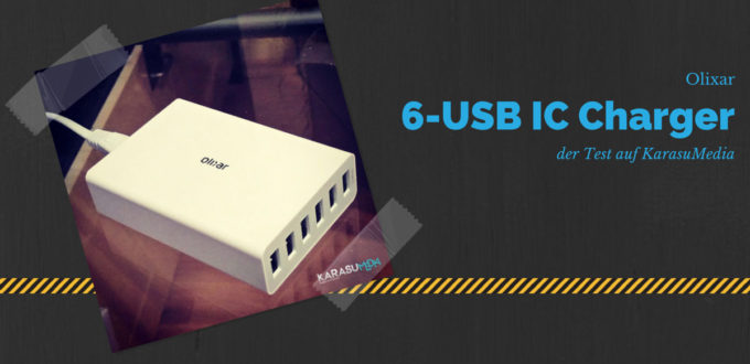 Olixar 6 USB IC Charger | Test, Testbericht, Review