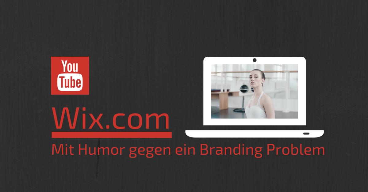 wix.com und das Branding Problem