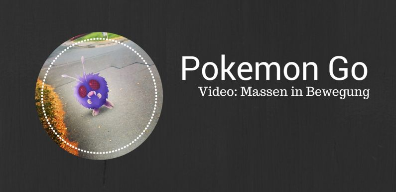 Pokemon Go - die Massen im Central Park