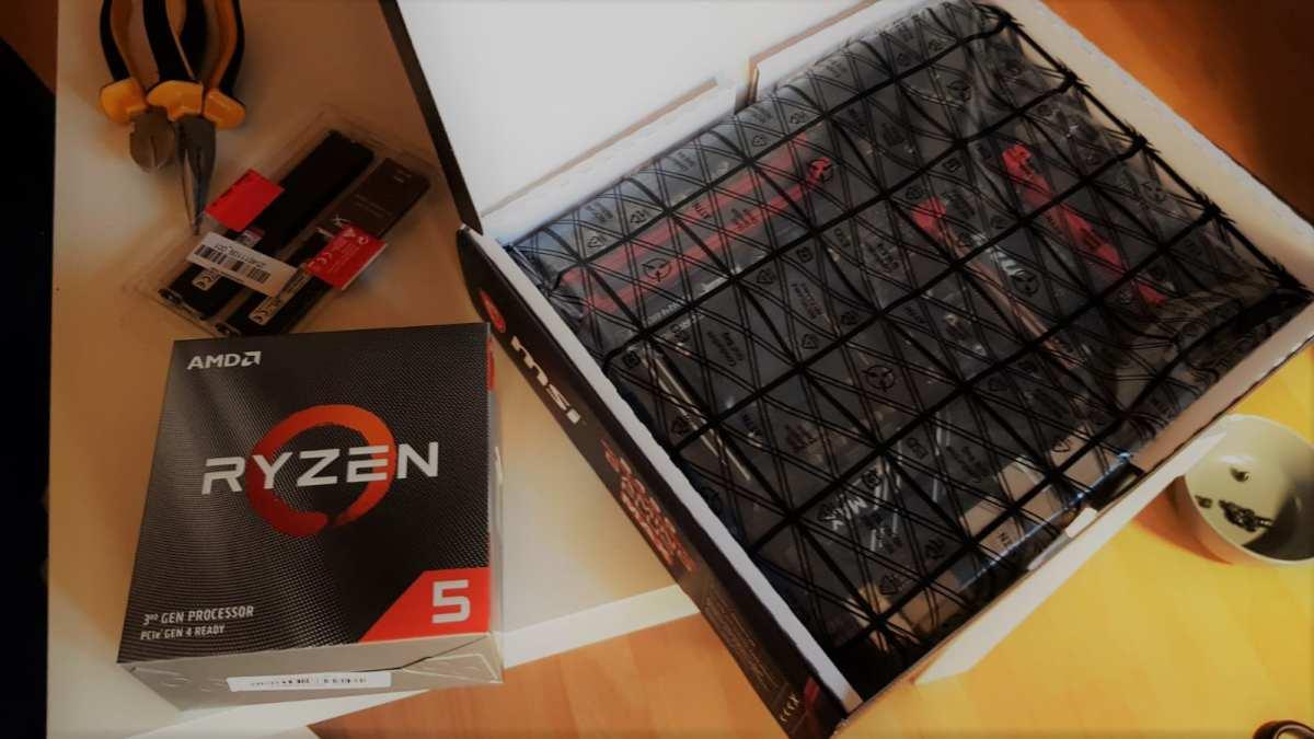 AMD Ryzen und MSI Mainboard