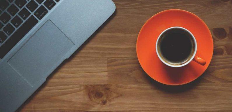 Die Tee- und Kaffeeküche im Büro
