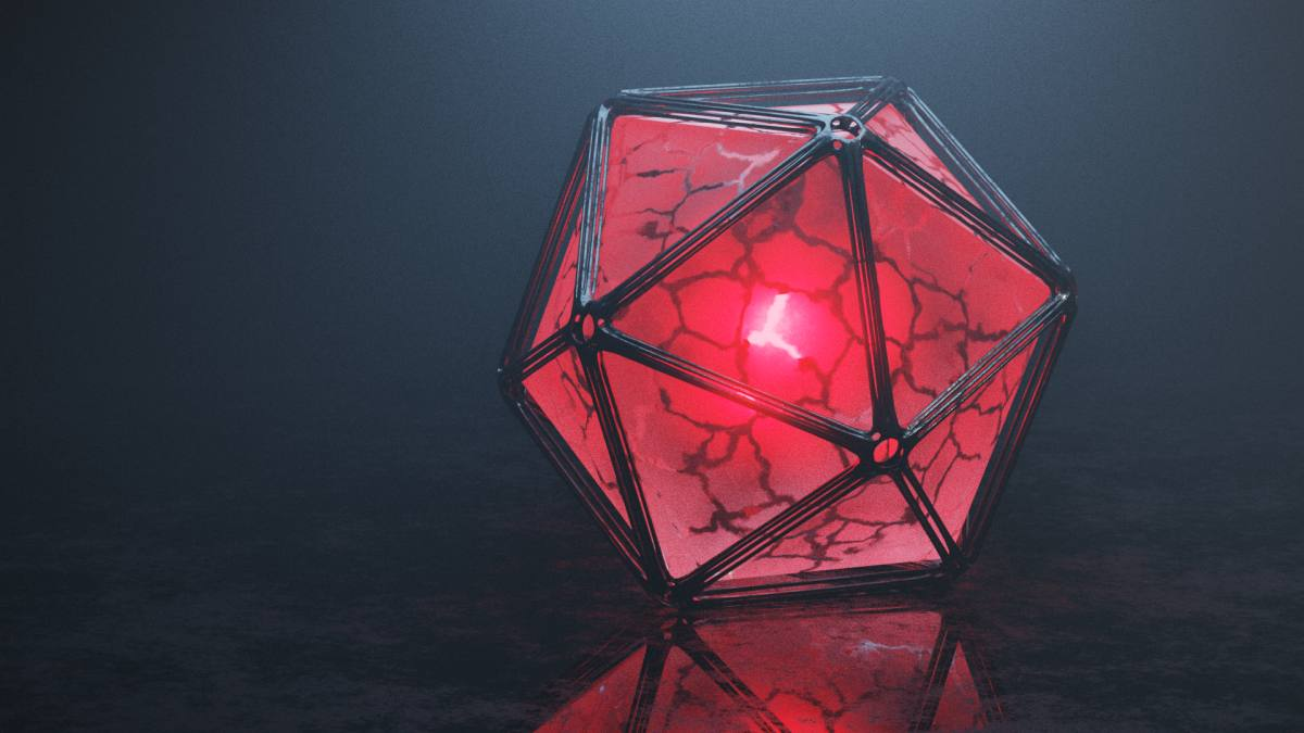 Space Cube in rot (Andreas Rabe)